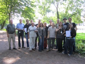 Teilnehmer Bouleturnier DFG