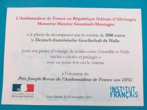 Prix Joseph Rovan