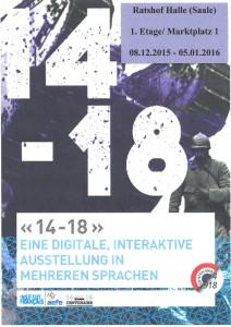 "Ausstellung ""14-18"""