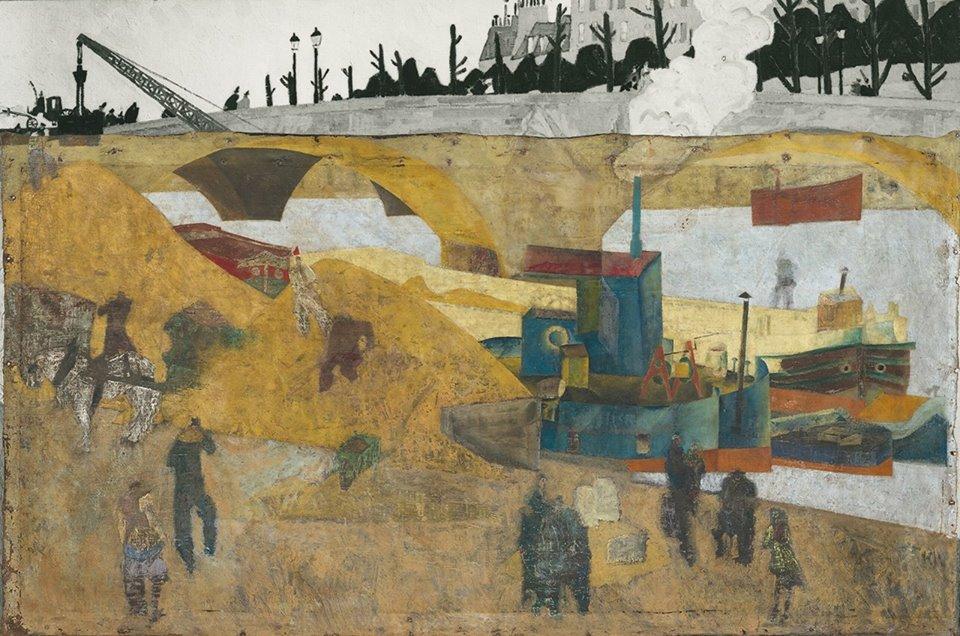 "Lyonel Feininger – Paris. ""An der Seine"" (1912)"