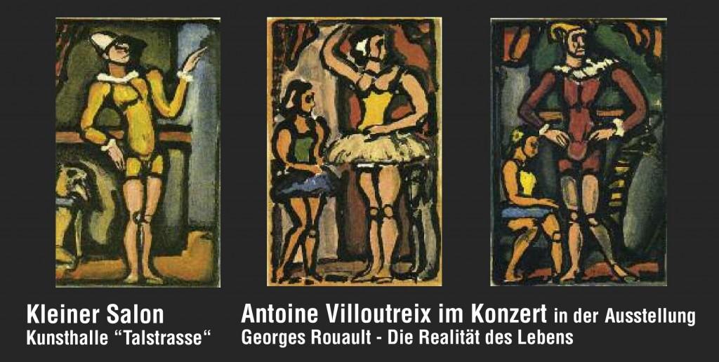 Konzert von Antoine VILLOUTREIX in der Ausstellung GEORGES ROUAULT – Die Realität des Lebens