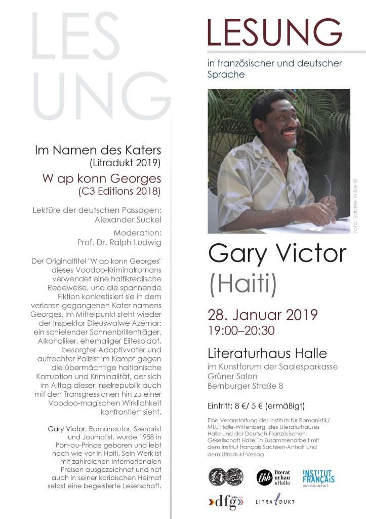 Lesung-Gary Victor