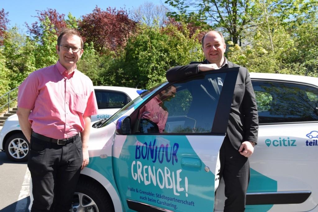Bonjour Grenoble ! teilauto Städtepartnerstadt 2