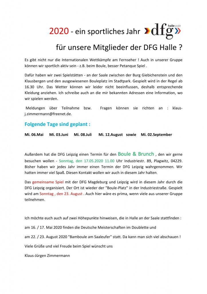 Bouletermine DFG Halle_2020